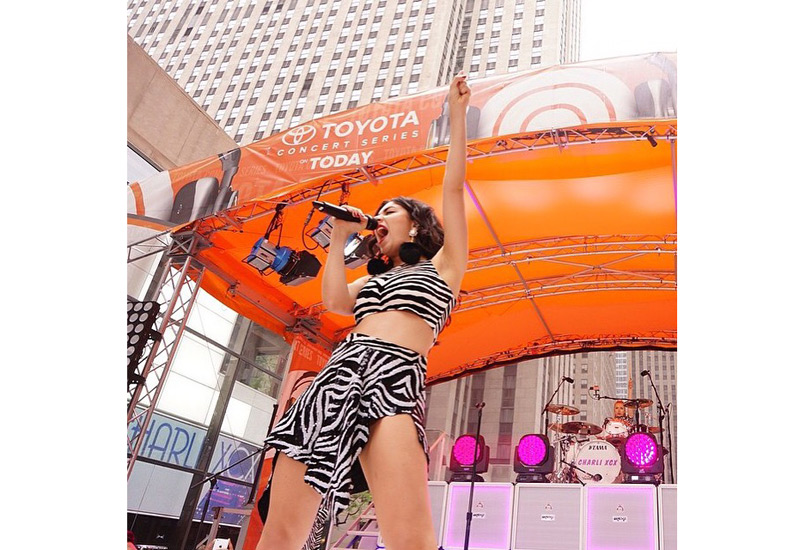 NBC Today Show's Toyota Concert Series - Charlie XCX