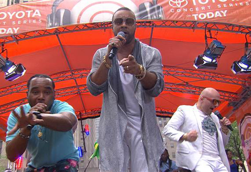 Shaggy Performing Live for NBC's Today Show - Toyota Concert Series