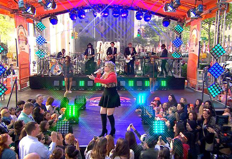 Today Show Stage Lighting - Meghan Trainor